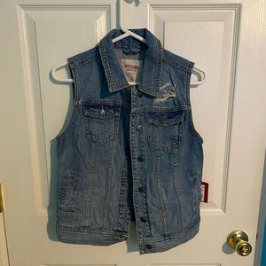 NWT Target Mossimo Jean Vest - Size M